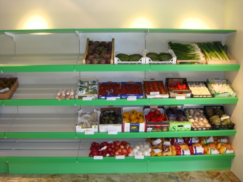 arredamento frutta e verdura - linea arredo - Idee Arredamento Negozio Frutta E Verdura